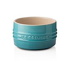 Le Creuset - Teal stoneware stackable ramekin