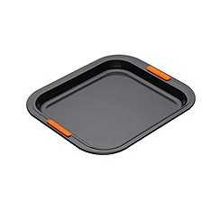 Le Creuset - Black toughened non-stick 31cm rectangular oven tray