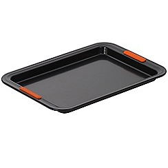 Le Creuset - Black toughened non-stick 33cm Swiss roll tray