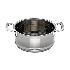 Le Creuset - 3-ply stainless steel 20cm induction steamer