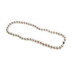 Love Story - 46cm silver freshwater pearl necklace