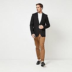 Burton - Black textured stretch blazer