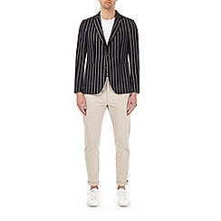 Burton - Regatta stripe stretch blazer