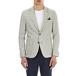 Burton - Light grey wool blend blazer