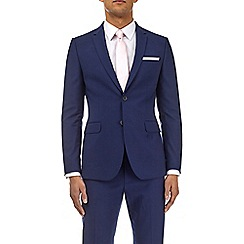 Burton - Midnight blue skinny fit with stretch suit jacket