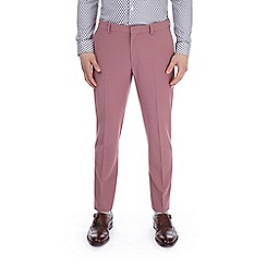 Burton - Pink skinny fit suit trousers with stretch