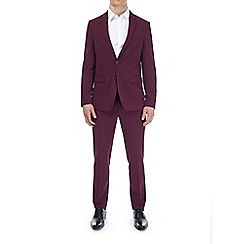 Burton - Berry skinny fit suit jacket with stretch