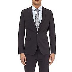 Burton - Black essential super skinny fit suit jacket with stretch