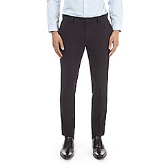 Burton - Black stretch super skinny fit suit trousers