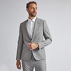 Burton - Grey stretch super skinny fit suit jacket