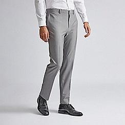 Burton - Grey stretch super skinny fit suit trousers