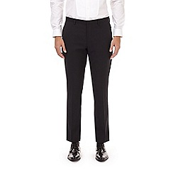 Burton - Black stretch skinny fit tuxedo trousers