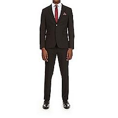 Burton - Black skinny fit suit jacket with stretch
