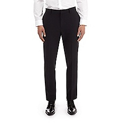 Burton - Black stretch muscle fit suit trousers