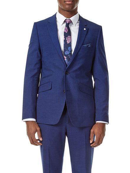 fit Burton slim Bright suit blue jacket trqwtdYEx