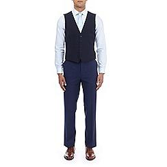 Burton - Midnight navy slim fit waistcoat