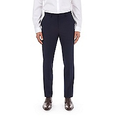 Burton - Navy essential slim fit suit trousers with stretch