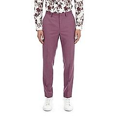 Burton - Raspberry slim fit suit trousers