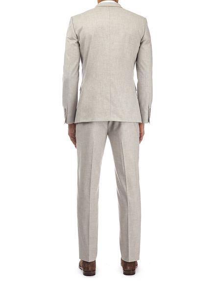 jacket slim suit textured Burton Beige fit X7fUxxOwn