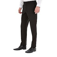 Burton - Black essential slim fit suit trousers