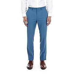 Burton - Deep blue slim fit suit trousers