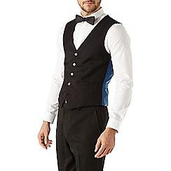 Burton - Black essential waistcoat