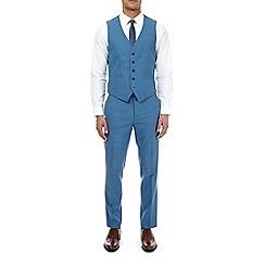 Burton - Deep blue slim fit suit waistcoat