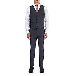 Burton - Grey spot slim fit waistcoat