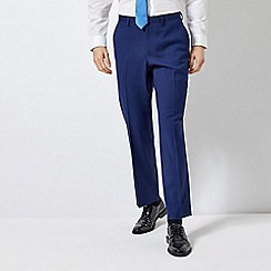 Burton - Midnight Blue Slim Fit Suit Trousers With Stretch