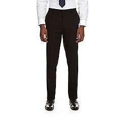 Burton - Black stretch essential slim fit suit trousers