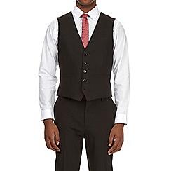Burton - Black stretch essential slim fit waistcoat