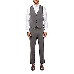 Burton - Grey smart collection slim fit suit waistcoat
