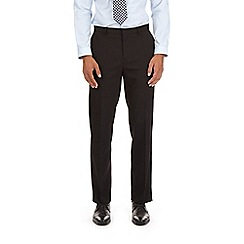 Burton - Black tailored fit with stretch suit trousers