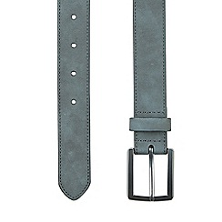Burton - Grey suede belt