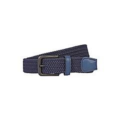 Burton - Navy stretch belt