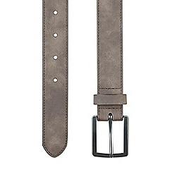 Burton - Brown suede belt