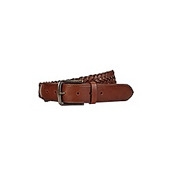 Burton - Brown weave belt