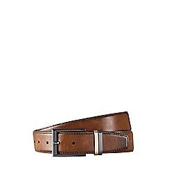 Burton - Dark brown copper silver belt