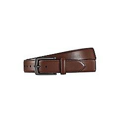 Burton - Brown vegan belt