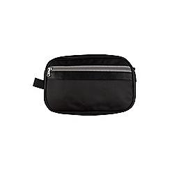 Burton - Black nylon wash bag