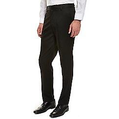 Burton - Black regular fit formal trousers
