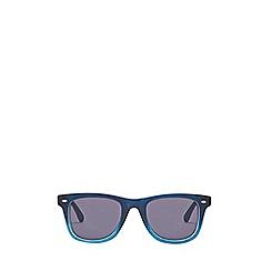 Burton - Navy ombre wayfarer sunglasses