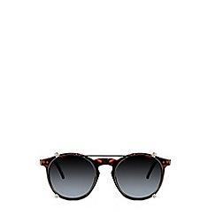 Burton - Black Flat Brow Sunglasses