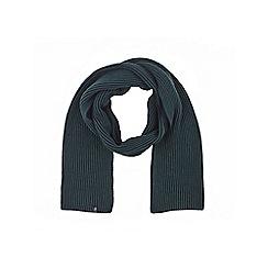 Burton - Plaited green scarf