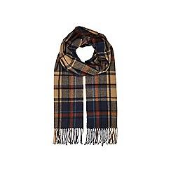 Burton - Brown check scarf