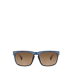 Burton - Blue Square Mirror Sunglasses