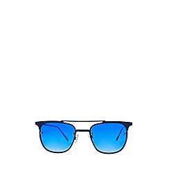 Burton - Blue Lens Retro Sunglasses