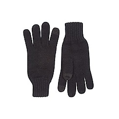 Burton - Core black touch screen gloves