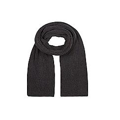 Burton - Black plaited scarf