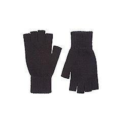 Burton - Black fingerless gloves